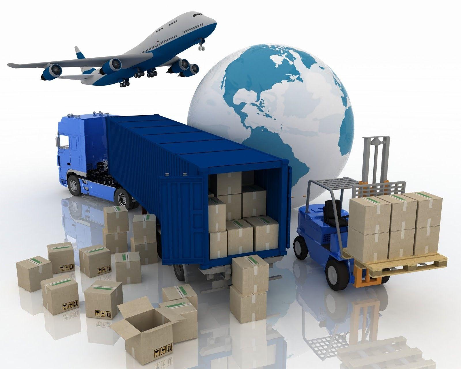 Transporte internacional: envío aéreo.