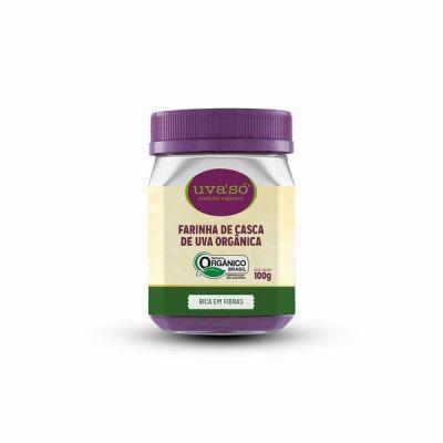 Harina de piel (cáscara) de uva orgánica