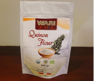 Harina cruda de Quinoa
