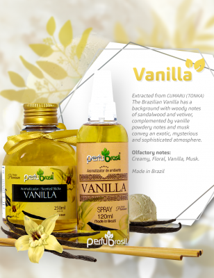 Aromatizante Concentrado Vanilla (Baunilha) 120ml