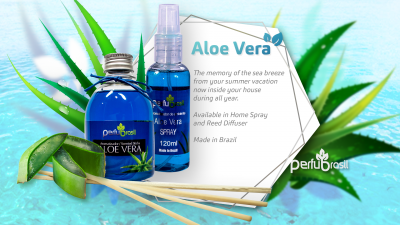 Aromatizante Concentrado Aloe Vera 120ml