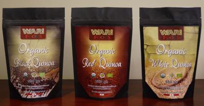 Quinoa Blanca, Roja, Negra, Tricolor
